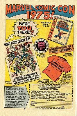 Marvel Con Ad