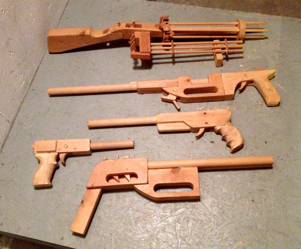 RUBBER-BAND-GUNS